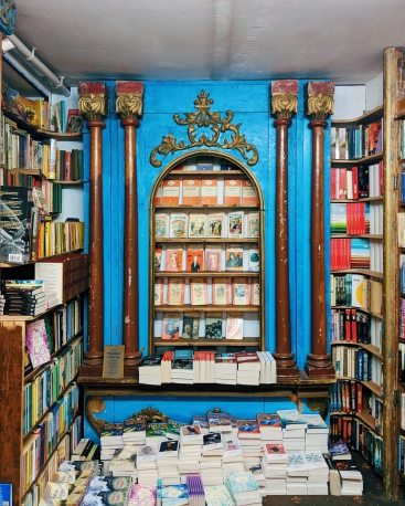The Vintage Penguin area at Addyman Books