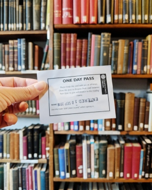 One Day Pass - Gladstone's Library