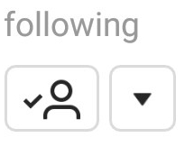Following Symbol Instagram